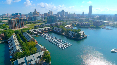 Upstate Visual Property Services, Real Estate Drone Photography, Buffalo, NY waterfront